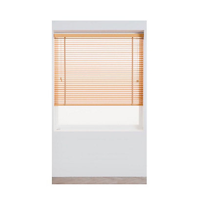 Image for Harrison Drape Oak Wood 35mm Venetian Blind - 180cm from StoreName