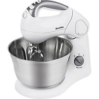 Breville SHM2 Twin Motor Hand and Stand Mixer - White.