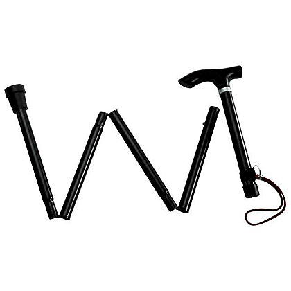 Image for Adjustable Folding Walking Stick. from StoreName