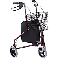 Lightweight Adjustable Walking Frame with Basket