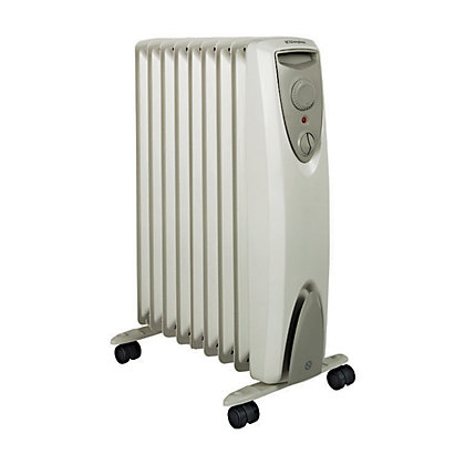 Image for Dimplex 2kW Cream Steel Eco Oil Free Column Heater from StoreName