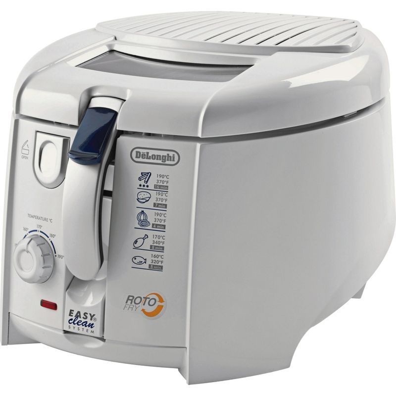 Delonghi Coffee Maker Homebase : De Longhi FH1394 XL Multifry Fryer - White.