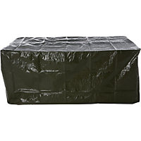 Rectangular Garden Table Cover - Black