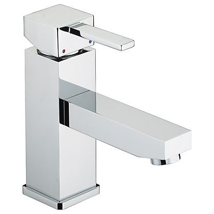 Image for Bristan Quadrato Eco Click Basin Mixer Tap from StoreName
