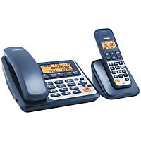 Binatone Concept 3525 Combo Telephone with Answer M/c- Twin.