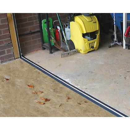 Stormguard garage door threshold draught excluder for Door draught excluder
