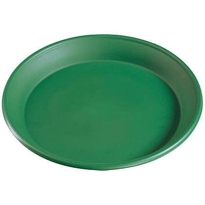 Image for Plant Pot Saucer in Green - 38cm from StoreName
