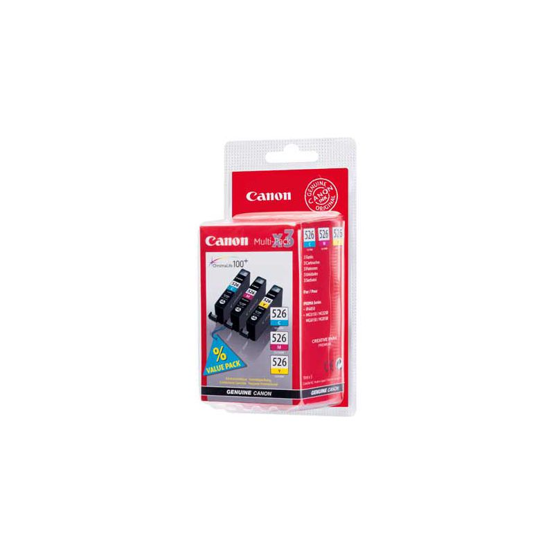 canon cli 526 ink cartridge multi pack. Black Bedroom Furniture Sets. Home Design Ideas