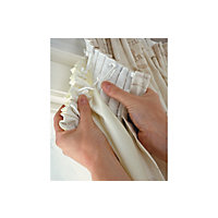 Thermal Curtain Linings - 168x178cm - Cream.