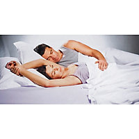 Sleepwell Intelliheat Luxury Mattress Cover - Double Dual.