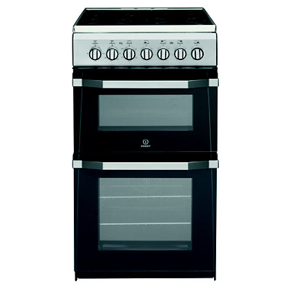 Image for Indesit IT50C1S/ Freestanding Cooker - Silver from StoreName