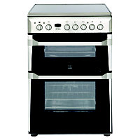 Indesit ID60C2(X) S Freestanding Electric Cooker - 60cm - Stainless Steel