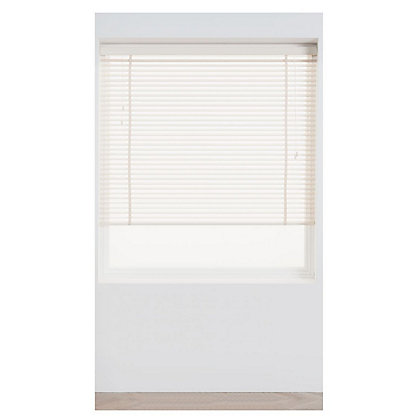 Image for Harrison Drape Chalk Wood 35mm Venetian Blind - 90cm from StoreName