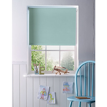 Image for Home of Style Duck Egg Blackout Blind - 120cm from StoreName