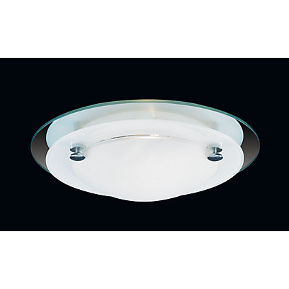 Image for Newport Small Flush Light - Frost Glass from StoreName