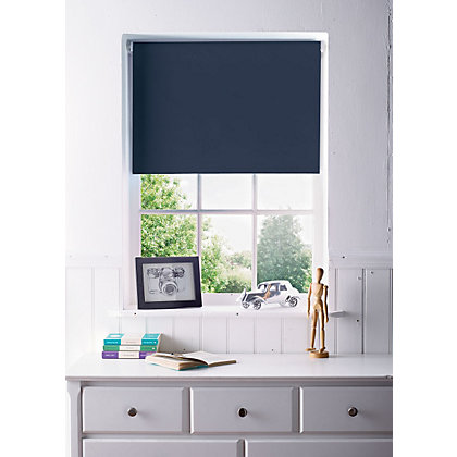 Image for Navy Blackout Blind - 90cm from StoreName