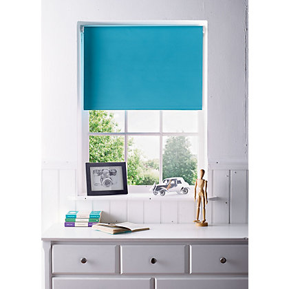 Image for Teal Blackout Blind - 90cm from StoreName