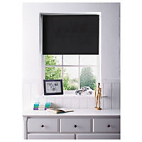 Home of Style Black Blackout Blind - 60cm