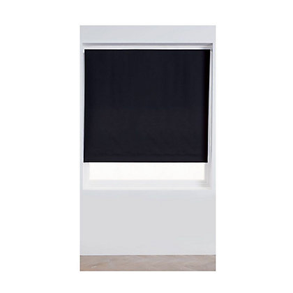 Image for Home of Style Black Blackout Blind - 90cm from StoreName