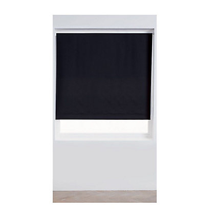 Image for Home of Style Black Blackout Blind - 120cm from StoreName