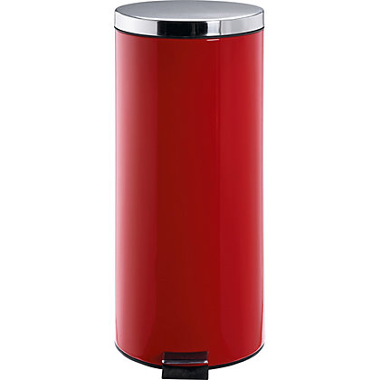 Image for 30 Litre Kitchen Pedal Bin - Red. from StoreName