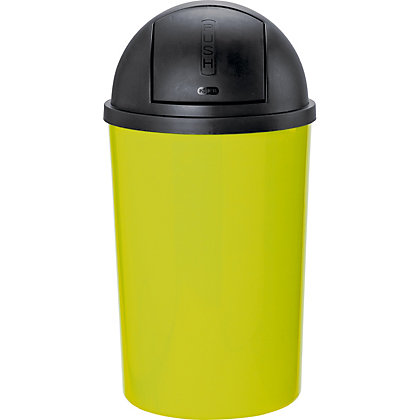 Image for Colour Match 30 Litre Push Top Bin - App from StoreName