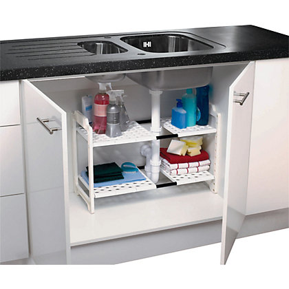 Addis under sink storage unit white for Home base kitchen units