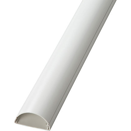 Image for D-Line - Cable Tidy Cover - White - 1m from StoreName