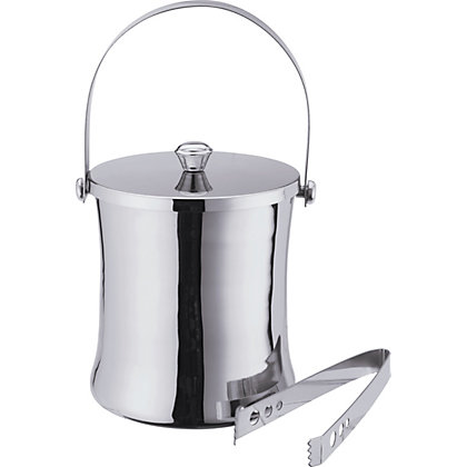 Image for Hour Glass Ice Bucket and Tongs. from StoreName