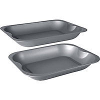 Set of 2 Non-Stick Roasters.