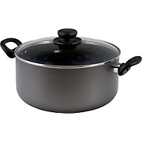 26cm Non-Stick Aluminium Stock Pot.