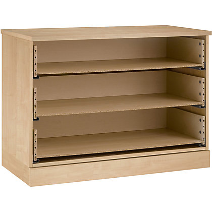 Image for Schreiber 3 Drawer Wide Chest - Maple from StoreName