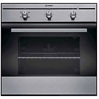 Indesit FIM21KB IX Single Conventional Oven- Del/Recycle Inc