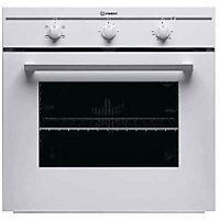 Indesit FIM21KB WH Single Conventional Oven - Del/Recycle