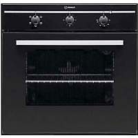 Indesit FIM21KB BK GB Single Conventional Oven - Del/Recycle