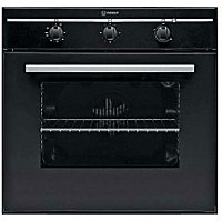 Indesit FIM31KA BK Single Fan Oven - Del/Recycle Included