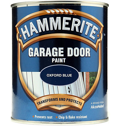 Image for Hammerite Oxford Blue - Garage Door Enamel Exterior Paint - 750ml from StoreName