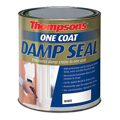 Image for Thompsons White One Coat Damp Seal - 750ml from StoreName