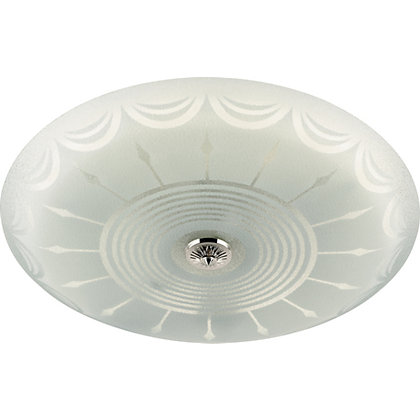 Image for Circular Fluorescent Ceiling Fitting - White. from StoreName