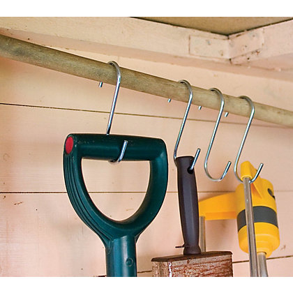 Image for Galvanised S-Shaped Hooks from StoreName