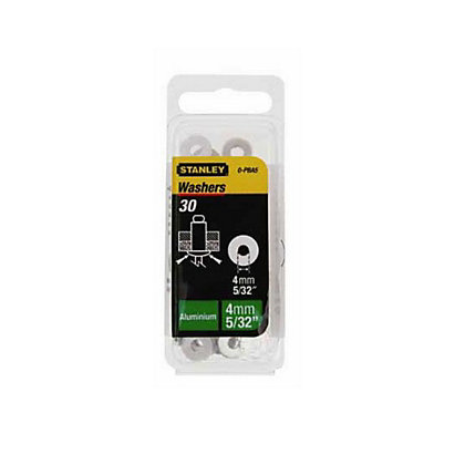 Image for Stanley Rivet Washers - 4mm - 30 pack from StoreName