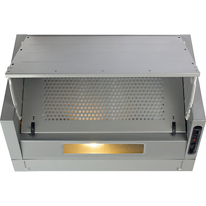 Image for CDA EIN60FSI Integrated Extractor 60cm - Silver from StoreName
