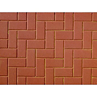 Brett Standard Paving Block 200x100x50mm - Red