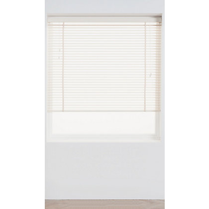 Image for Harrison Drape Chalk Wood 35mm Venetian Blind - 120cm from StoreName