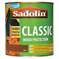 Sadolin Classic Woodstain - Teak - 1L