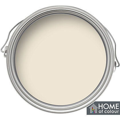 Image for Home of Colour Classic Cream - Silk Emulsion Paint - 5L from StoreName