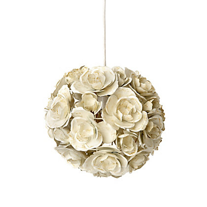 Image for Rose Pendant - Antique Cream - 25cm from StoreName