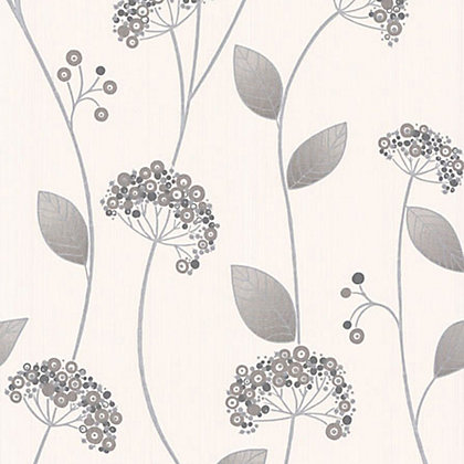 Image for Premier Claire Paste the Wall Wallpaper - Grey from StoreName