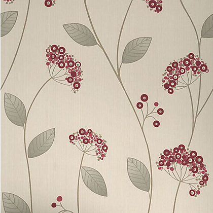 Image for Premier Claire Paste the Wall Wallpaper - Red from StoreName