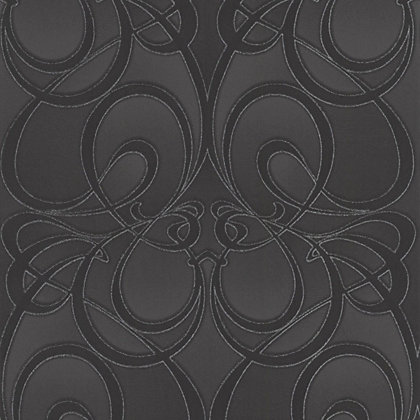 Image for Premier Jazz Paste the Wall Wallpaper - Black from StoreName